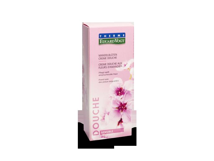 Mandelblütenöl in der Verpackung