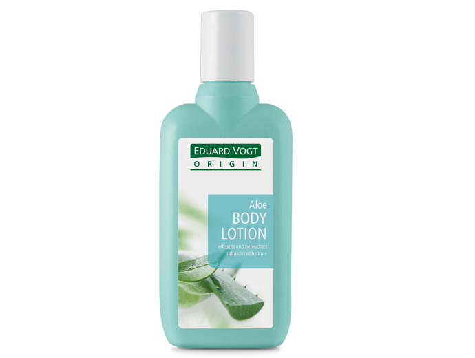Packshot Aloe Bodylotion.