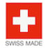 Swiss Made Logo mit Schweizer Flagge